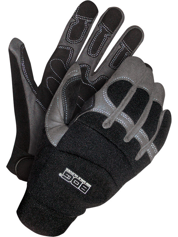 Synthetic Leather Performance Glove w/Reinforced Palm
