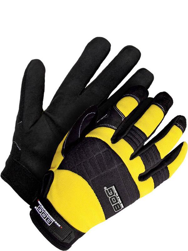 Synthetic Leather Mechanics Glove