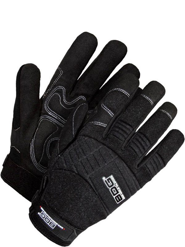 Synthetic Leather Mechanics Glove w/Padded Palm