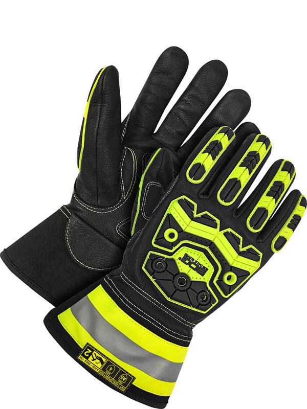 """Grain Goatskin Glove w/3"""" Cuff (Impact/Oil)"""