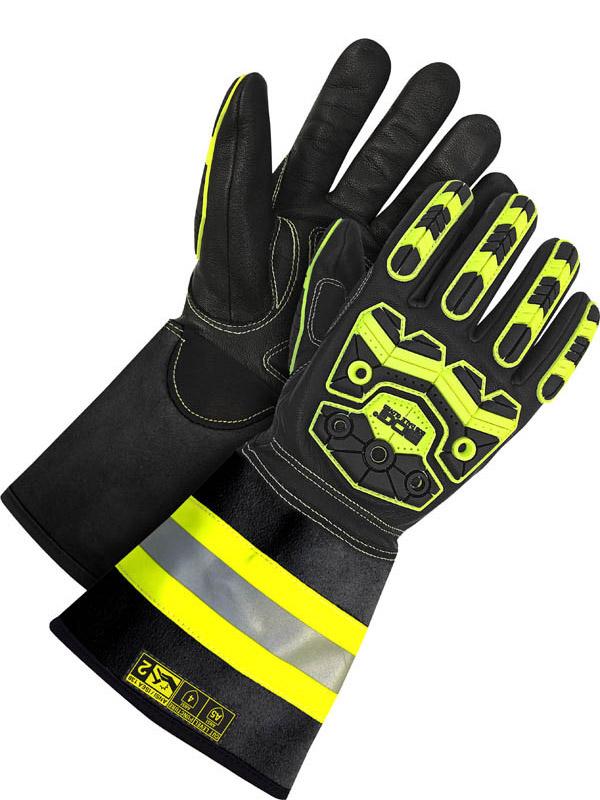 """Grain Goatskin Glove w/5"""" Cuff (Impact/Oil)"""