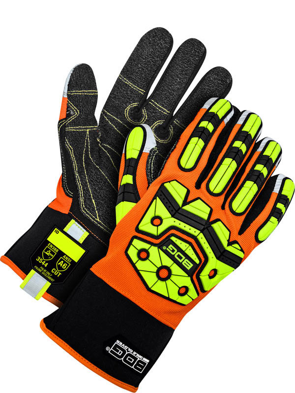 Synthetic Leather Mechanics Glove (Impact/Cut)