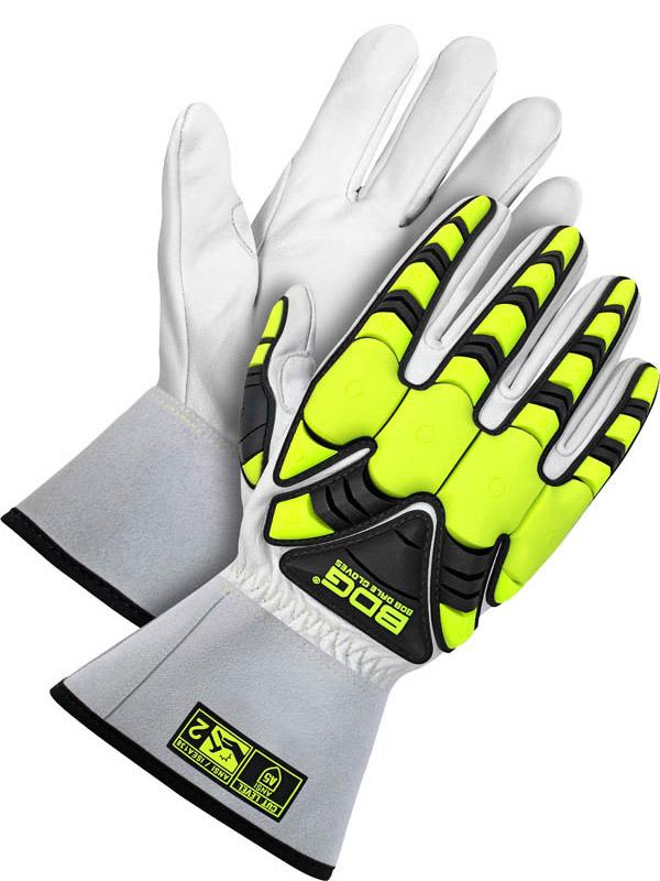"""Grain Goatskin Glove w/3"""" Cuff (Impact/Cut)"""