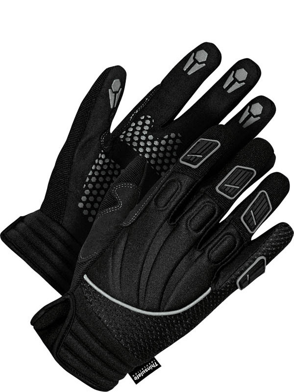 Lined Synthetic Leather Performance Glove
