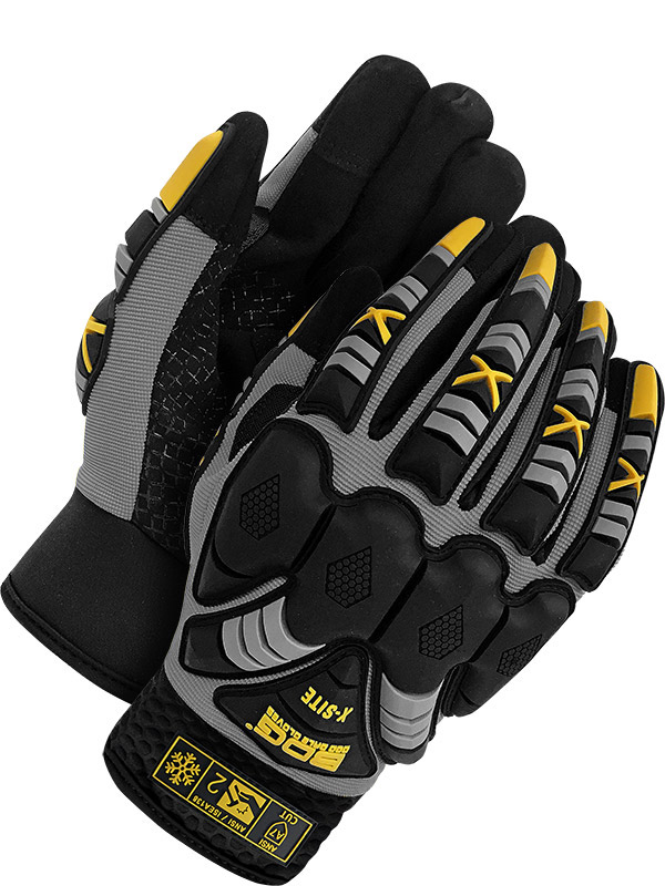Lined Synthetic Leather Performance Glove (Impact/Cut)