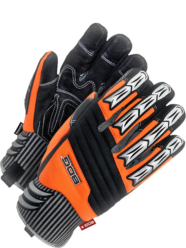 Lined Synthetic Leather Performance Glove w/Padded Palm (Impact)