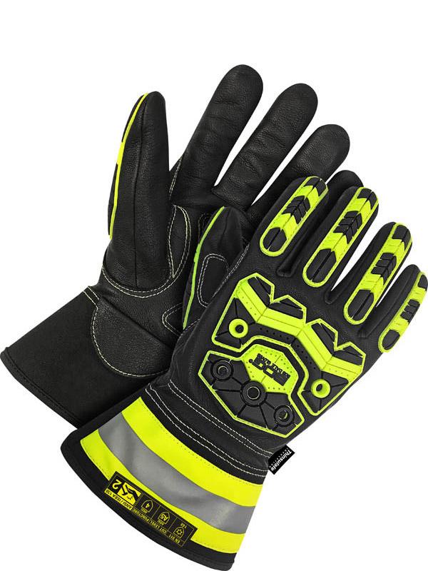 """Lined Grain Goatskin Glove w/3"""" Cuff (Impact/Oil)"""