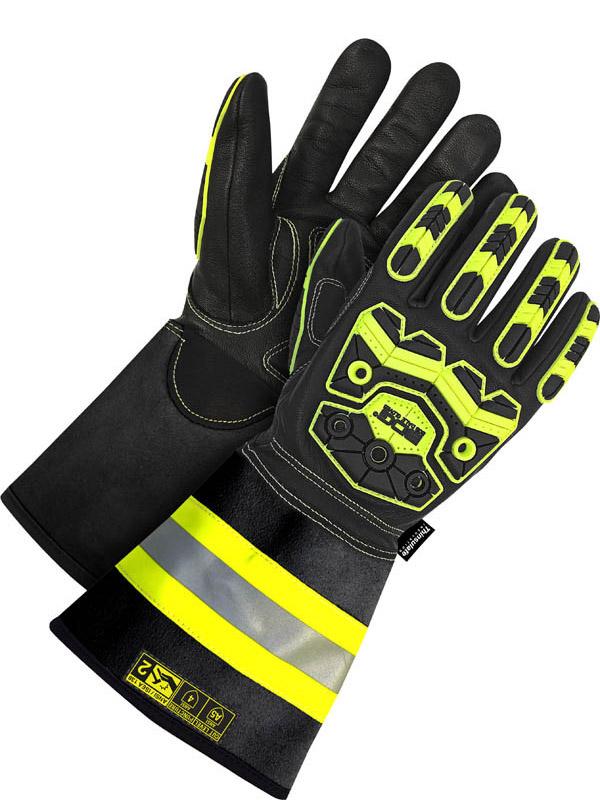 """Lined Grain Goatskin Glove w/5"""" Cuff (Impact/Oil)"""