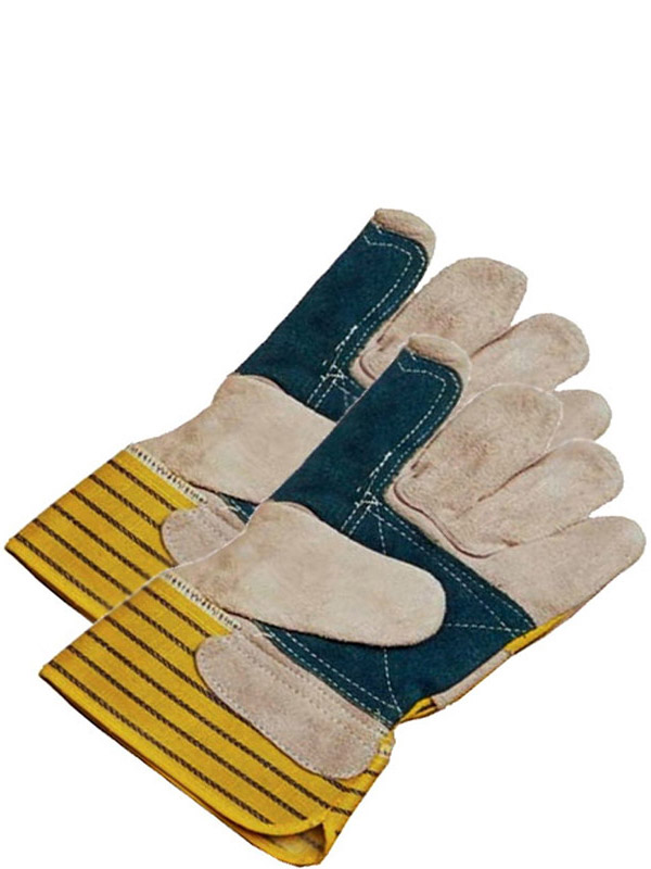Split Cowhide Fitter w/Safety Cuff & Double Palm (Left Only)