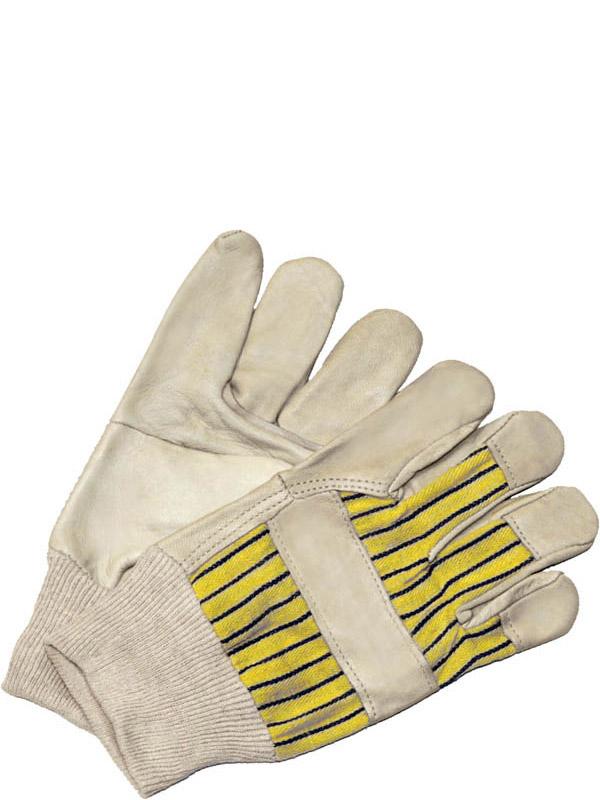 Grain Cowhide Fitter w/Knit Wrist