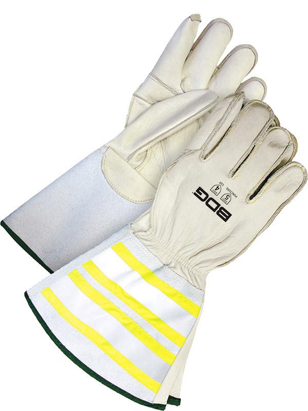 """Grain Cowhide Utility Glove w/6.25"""" Cuff"""