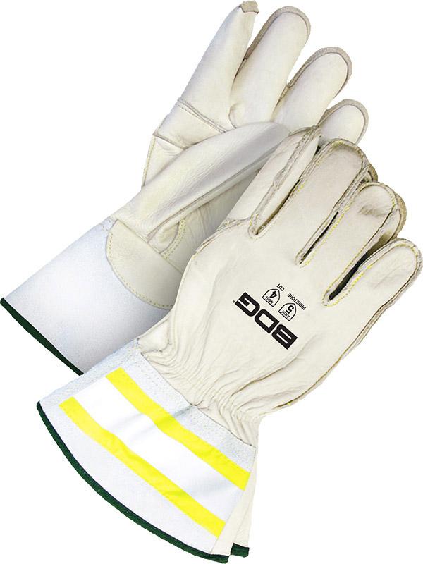 """Grain Cowhide Utility Glove w/3"""" Cuff"""