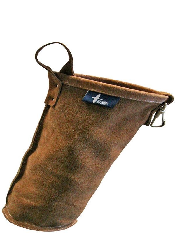 Porte-baguettes de soudage en cuir