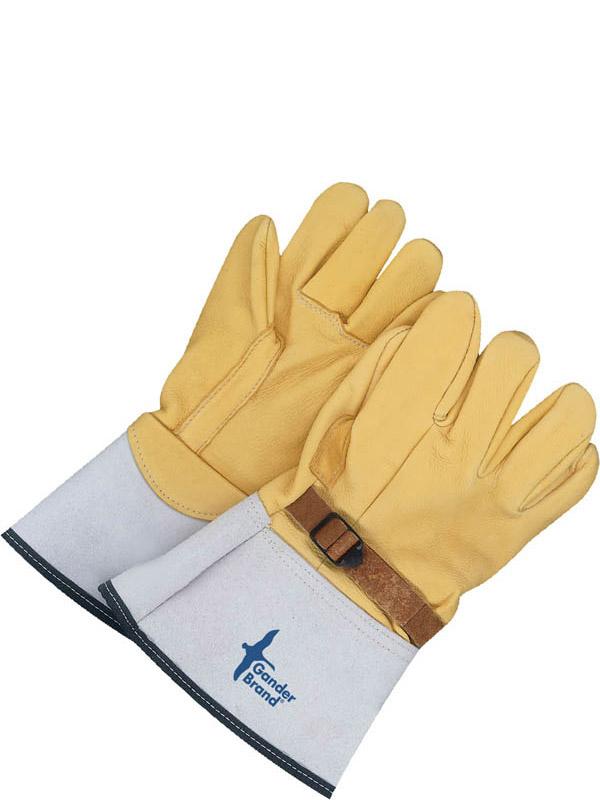 Grain Deerskin High Voltage Glove Cover