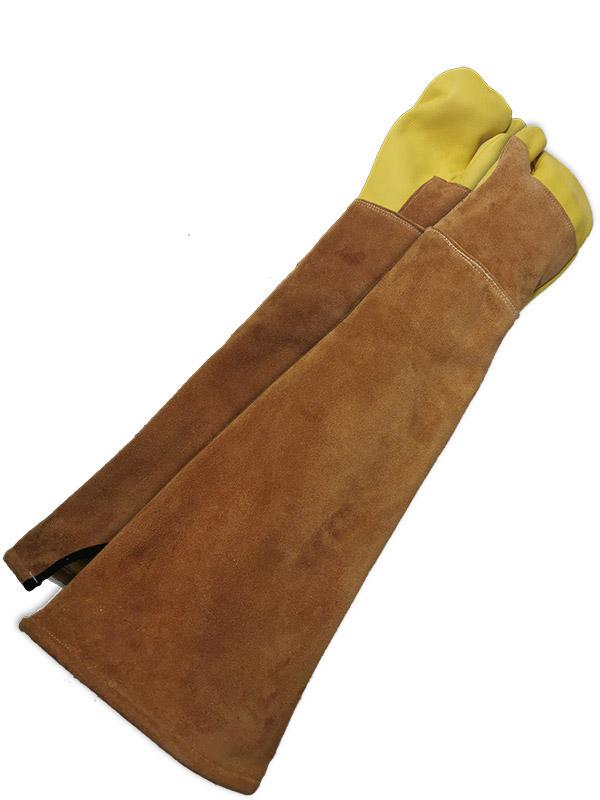 Grain Cowhide Tactical Glove w/Kevlar® Lining