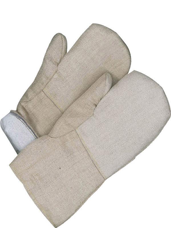Lined Silica Cloth High Heat Mitt