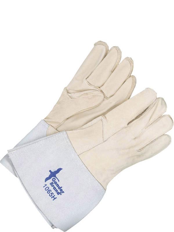 Grain Horsehide Utility Glove w/Gauntlet Cuff