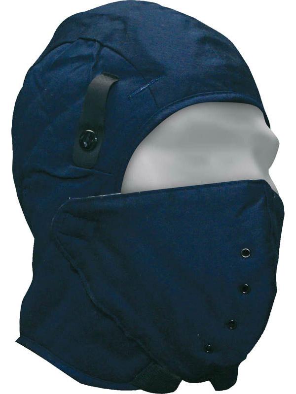 Doublure de casque de sécurité en coton avec masque