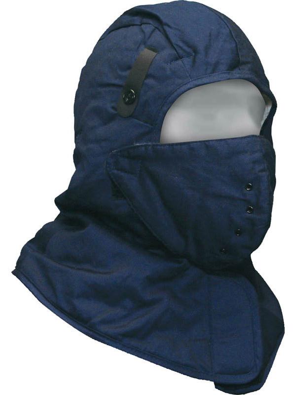 Cotton Hard Hat Liner w/Face Mask