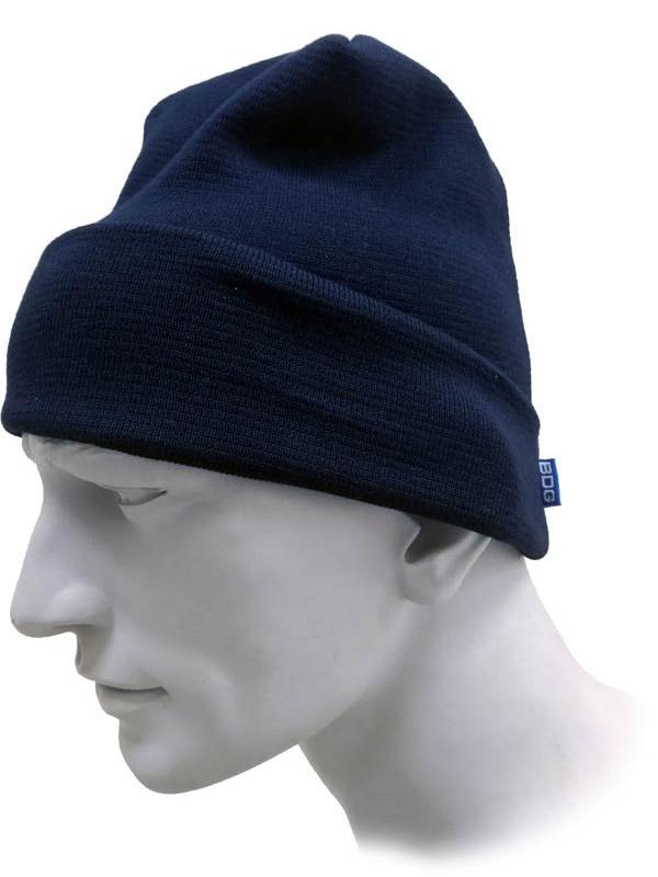 Tuque en tricot avec fibre ignifuge