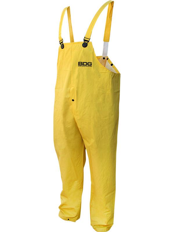PVC/Polyester Rain Bib Pants