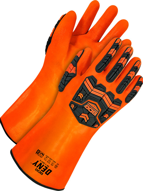 "14"" PVC Glove w/Cut-Resistant Lining"