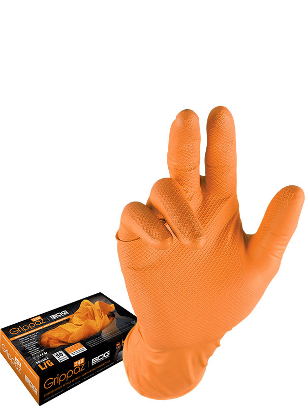 6 mil Nitrile Disposable Gloves