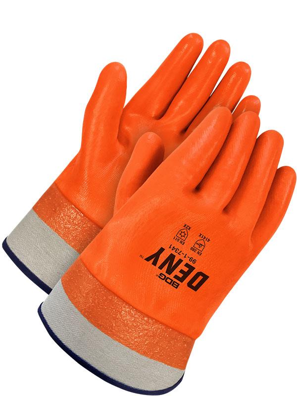Full PVC Coated Cotton w/Safety Cuff (Hi-Viz)