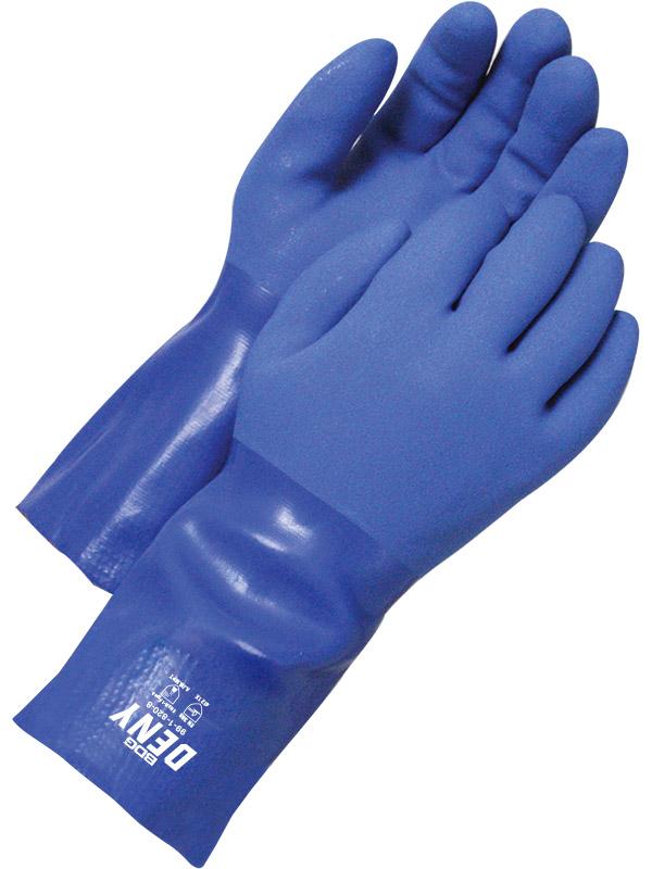 "12"" PVC Glove w/Cotton Lining"
